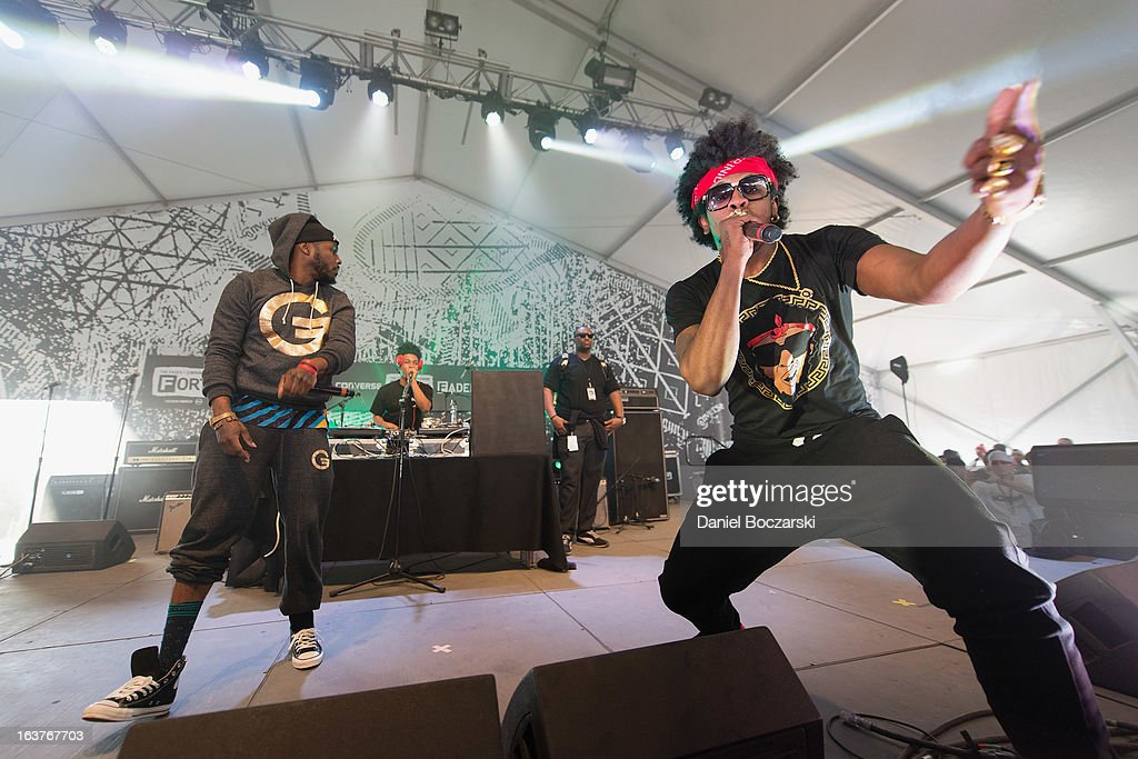 Trinidad James performs at THE FADER FORT Presented by Converse on Day 3 of SXSW 2013 Music Festival on March 14, 2013 in Austin, Texas.
