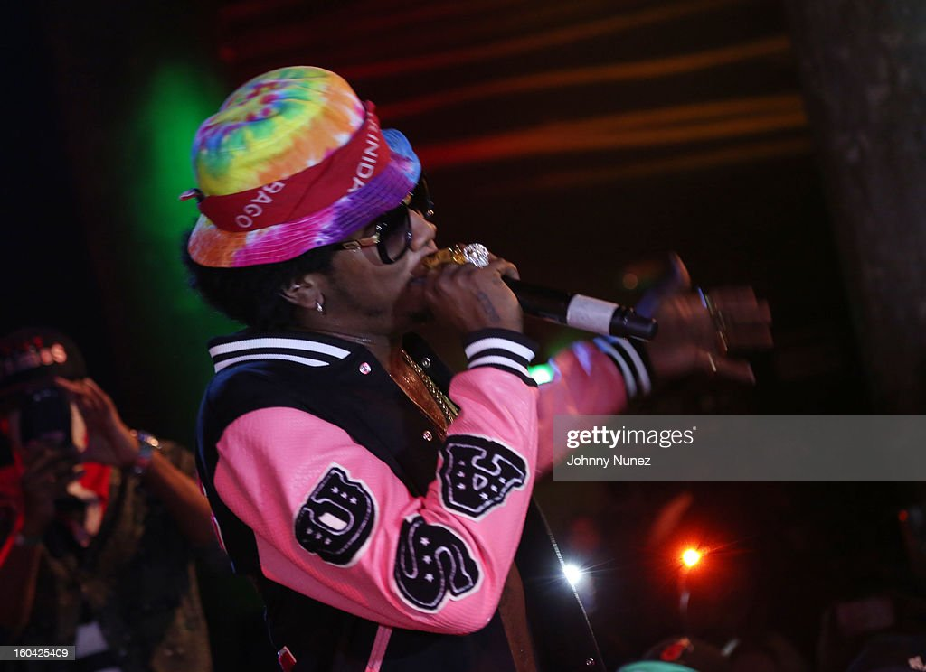 Trinidad James performs at the HOT 97 Who's Next Live Featuring Trinidad James at SOB's on January 30, 2013 in New York City.