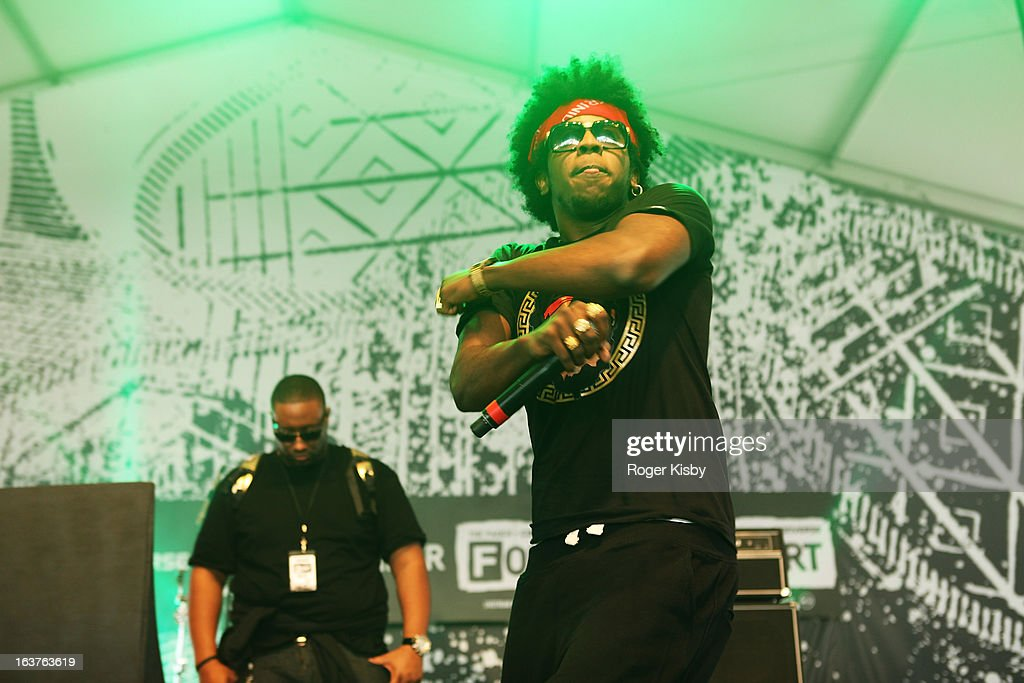 Trinidad James performs onstage at Fader Fort presented by Converse during SXSW on March 14, 2013 in Austin, Texas.