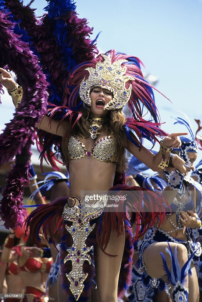Trinidad, Port Of Spain, Carnival, Parade Of Bands.