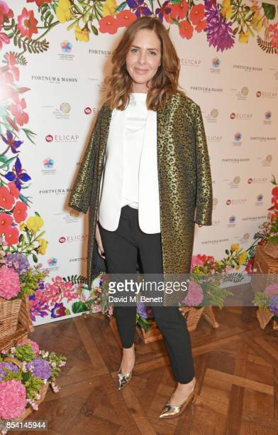 Trinny Woodall attends the 4th annual Ladies' Lunch in support of the Silent No More Gynaecological Cancer Fund at Fortnum Mason on September 26 2017...