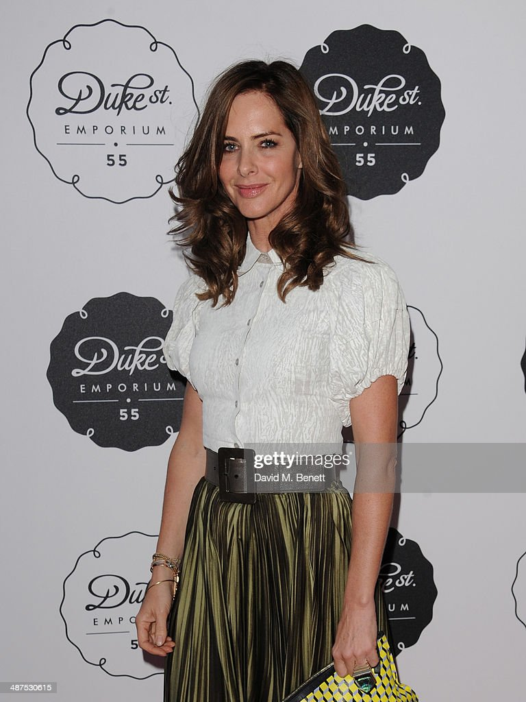 <a gi-track='captionPersonalityLinkClicked' href=/galleries/search?phrase=Trinny+Woodall&family=editorial&specificpeople=206518 ng-click='$event.stopPropagation()'>Trinny Woodall</a> attends the new concept store 'The Duke Street Emporium' launched by The Jigsaw Group on April 30, 2014 in London, England.