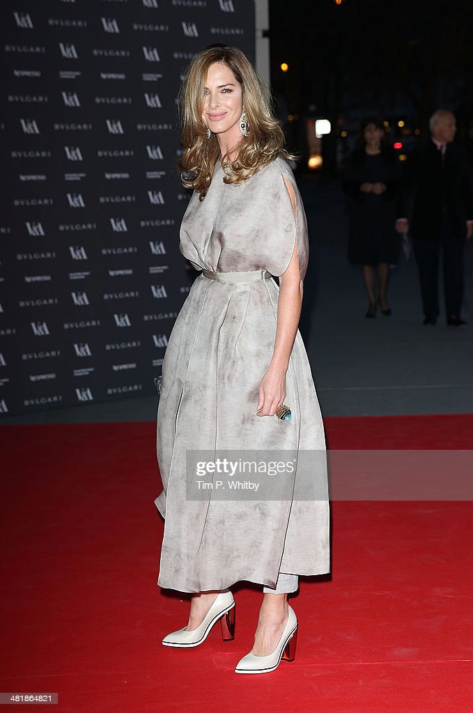 <a gi-track='captionPersonalityLinkClicked' href=/galleries/search?phrase=Trinny+Woodall&family=editorial&specificpeople=206518 ng-click='$event.stopPropagation()'>Trinny Woodall</a> attends the preview of The Glamour of Italian Fashion exhibition at Victoria & Albert Museum on April 1, 2014 in London, England.