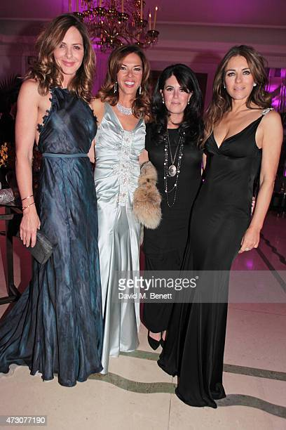 Trinny Woodall Heather Kerzner Monica Lewinsky and Elizabeth Hurley attend the Spring Gala In Aid of the Red Cross War Memorial Children's Hospital...