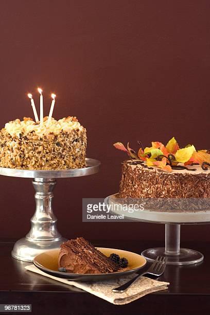 trio of cake