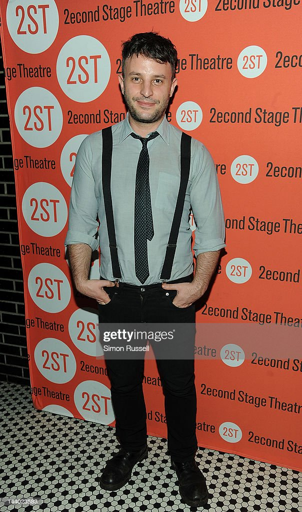 Trip Cullman attends 'Lonely I'm Not' Off Broadway Opening Night at HB Burger on May 7, 2012 in New York City.
