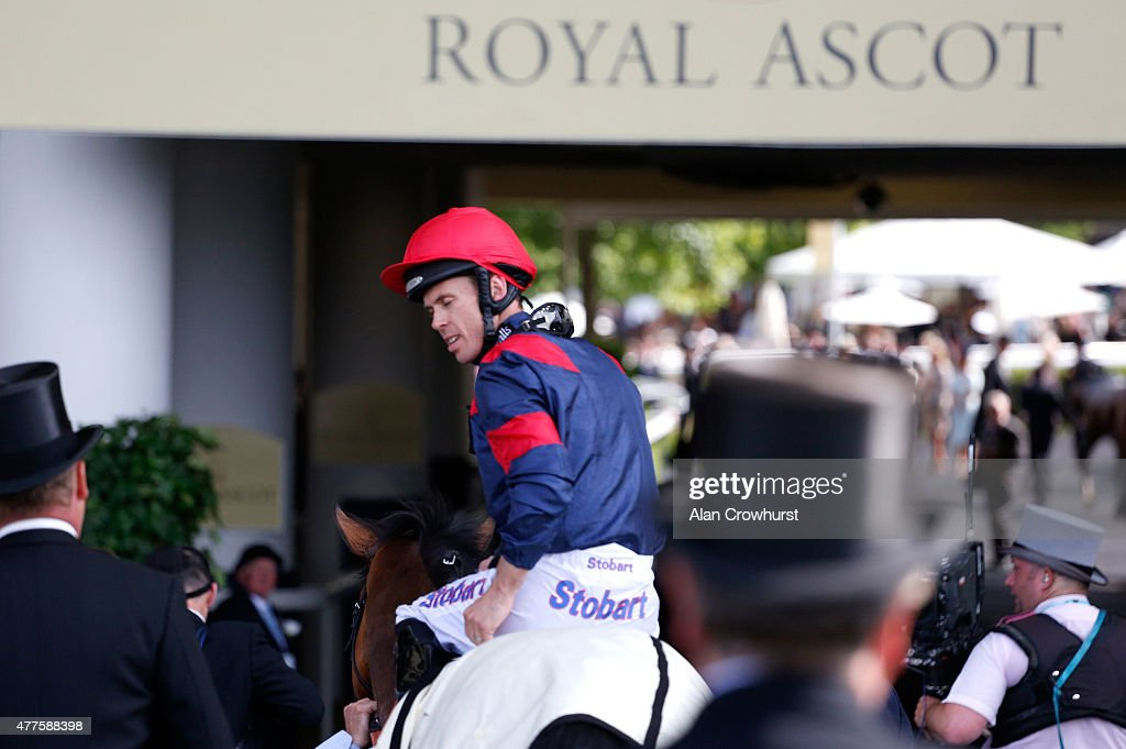 Trip To Paris ridden by Graham Lee after victory in the Gold Cup during Royal Ascot 2015 at Ascot racecourse on June 18 2015 in Ascot England