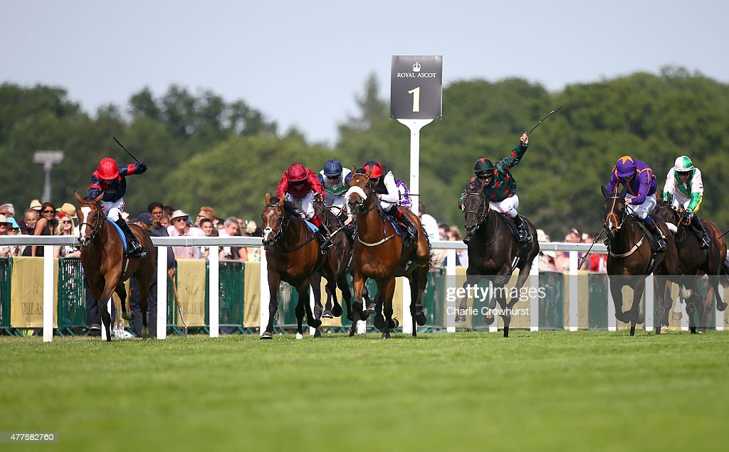 Trip To Paris ridden by Graham Lee wins the Gold Cup during Royal Ascot 2015 at Ascot racecourse on June 18 2015 in Ascot England
