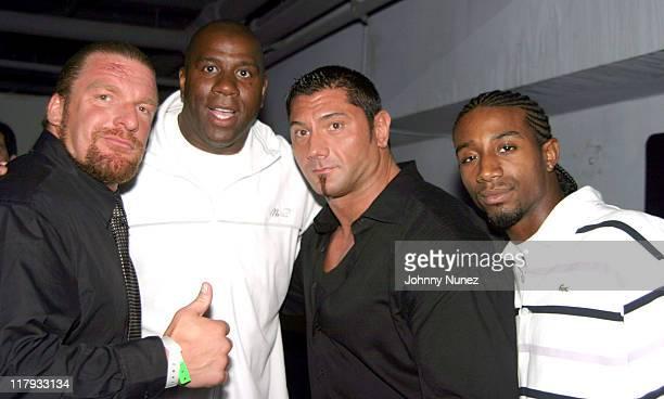 Triple H Magic Johnson Batista and Andre Johnson