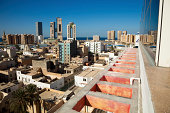 Libya capital Tripoli skyline view