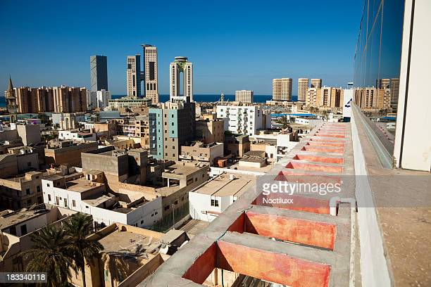 Tripoli skyline, Libia