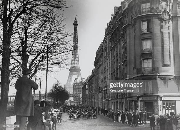 Triporteurs Course In Paris In The Twenties