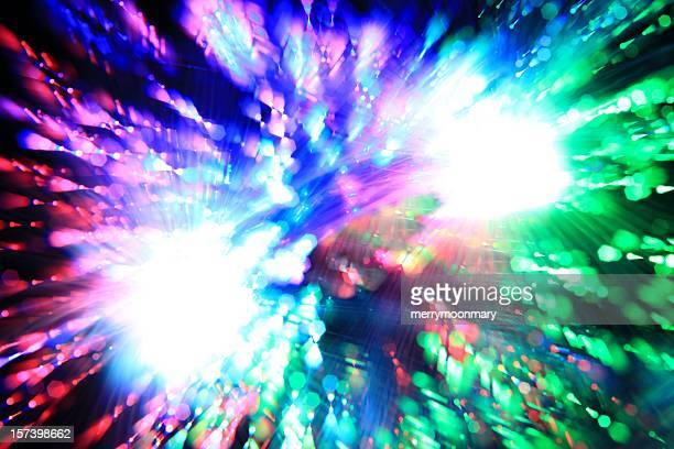 Trippy Light Burst