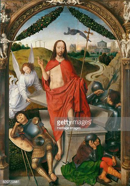 Triptych of The Resurrection Found in the collection of Louvre Paris