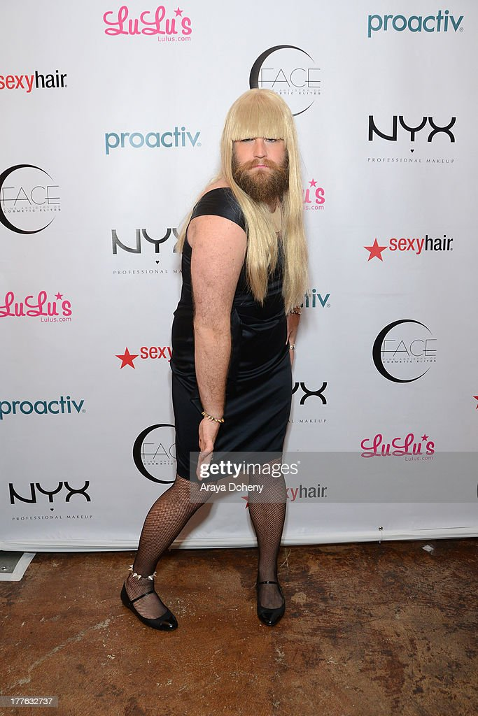P'Trique attends the NYX Cosmetics FACE Awards at Beautycon at Siren Studios on August 24, 2013 in Hollywood, California.