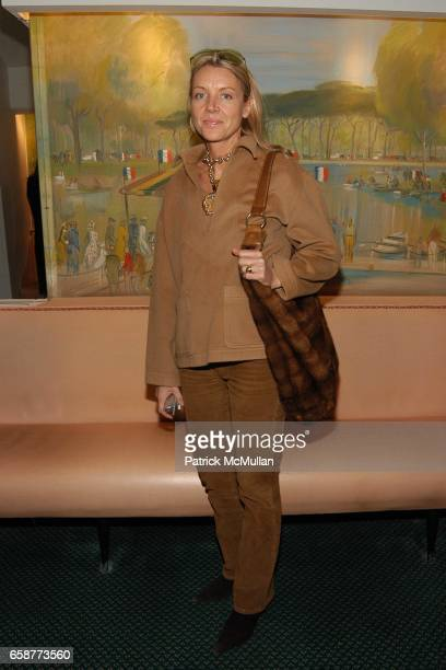 Trish Grady attends Andre Leon Talley and Robert Burke host at La Caravelle for Loulou de la Falaise Collection on February 12 2004