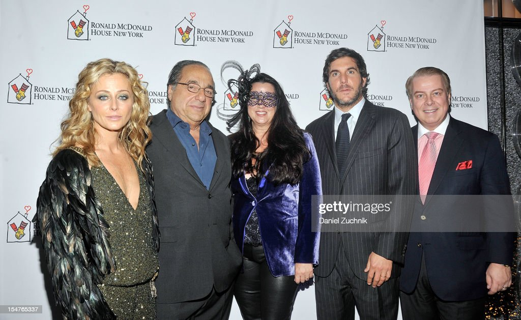 Trish Wescoat Pound, Stan Shopkorn, Tracy Shopkorn, Haute Hippie CEO Jesse Cole and Ronald McDonald House President Bill Sullivan attend the Masquerade Ball Benefiting Ronald McDonald House at Apella on October 25, 2012 in New York City.