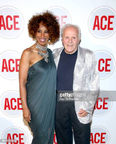 Trisha Goddard and Henry Buhl attend the 2017 ACE Gala at Capitale on May 23 2017 in New York City