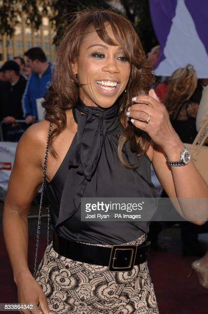 Trisha Goddard arrives for the Pride of Britain Awards 2007 The London Studios Upper Ground London SE1