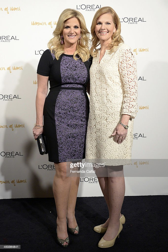 <a gi-track='captionPersonalityLinkClicked' href=/galleries/search?phrase=Trisha+Yearwood&family=editorial&specificpeople=216434 ng-click='$event.stopPropagation()'>Trisha Yearwood</a> and Beth Bernarz attend L'Oreal Paris' Women of Worth 2013 at The Pierre Hotel on December 3, 2013 in New York City.