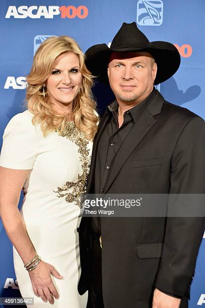 Trisha Yearwood and Garth Brooks attend the ASCAP Centennial Awards at Waldorf Astoria Hotel on November 17 2014 in New York City