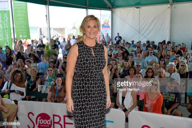 Trisha Yearwood attends KitchenAid® Culinary Demonstrations during the Food Network South Beach Wine Food Festival at Grand Tasting Village on...