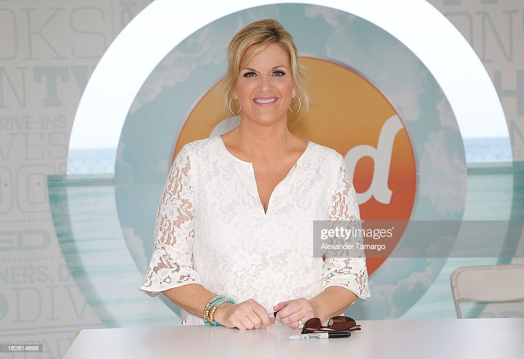 <a gi-track='captionPersonalityLinkClicked' href=/galleries/search?phrase=Trisha+Yearwood&family=editorial&specificpeople=216434 ng-click='$event.stopPropagation()'>Trisha Yearwood</a> attends South Beach Wine and Food Festival 2013 Grand Tasting Village on February 24, 2013 in Miami Beach, Florida.