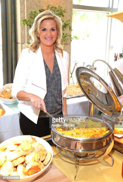 Trisha Yearwood attends Southern Kitchen Brunch Hosted By Trisha Yearwood Part Of The New York Times Series during the Food Network South Beach Wine...
