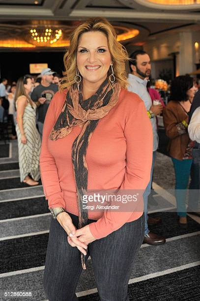 Trisha Yearwood attends the Southern Kitchen Brunch Hosted By Trisha Yearwood Part of The NYT Cooking Series during 2016 Food Network Cooking Channel...