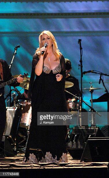 Trisha Yearwood during Country Takes New York City Grand Ole Opry at Carnegie Hall at Carnegie Hall in New York City New York United States