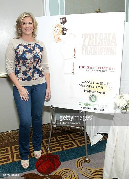 Trisha Yearwood poses at DownHome Country Brunch Hosted By Trisha Yearwood during Food Network New York City Wine Food Festival Presented By FOOD...