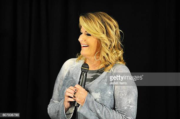 Trisha Yearwood PreConcert Press Conference at Honda Center on September 16 2016 in Anaheim California