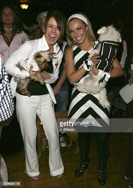 Trista Sutter and Hayden Panettiere during 7th Annual 'Paws for Style' Celebrity Pet Fashion Benefiting Animal Medical Center at The Avalon Theater...