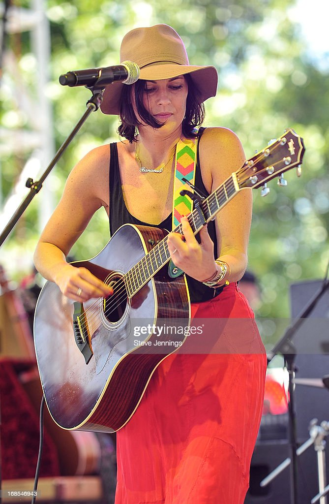 <a gi-track='captionPersonalityLinkClicked' href=/galleries/search?phrase=Tristan+Prettyman&family=editorial&specificpeople=756067 ng-click='$event.stopPropagation()'>Tristan Prettyman</a> performs on Day 2 of Bottle Rock Napa Valley Festival at Napa Valley Expo on May 10, 2013 in Napa, California.
