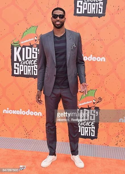 Tristan Thompson attends the Nickelodeon Kids' Choice Sports Awards 2016 at UCLA's Pauley Pavilion on July 14 2016 in Westwood California