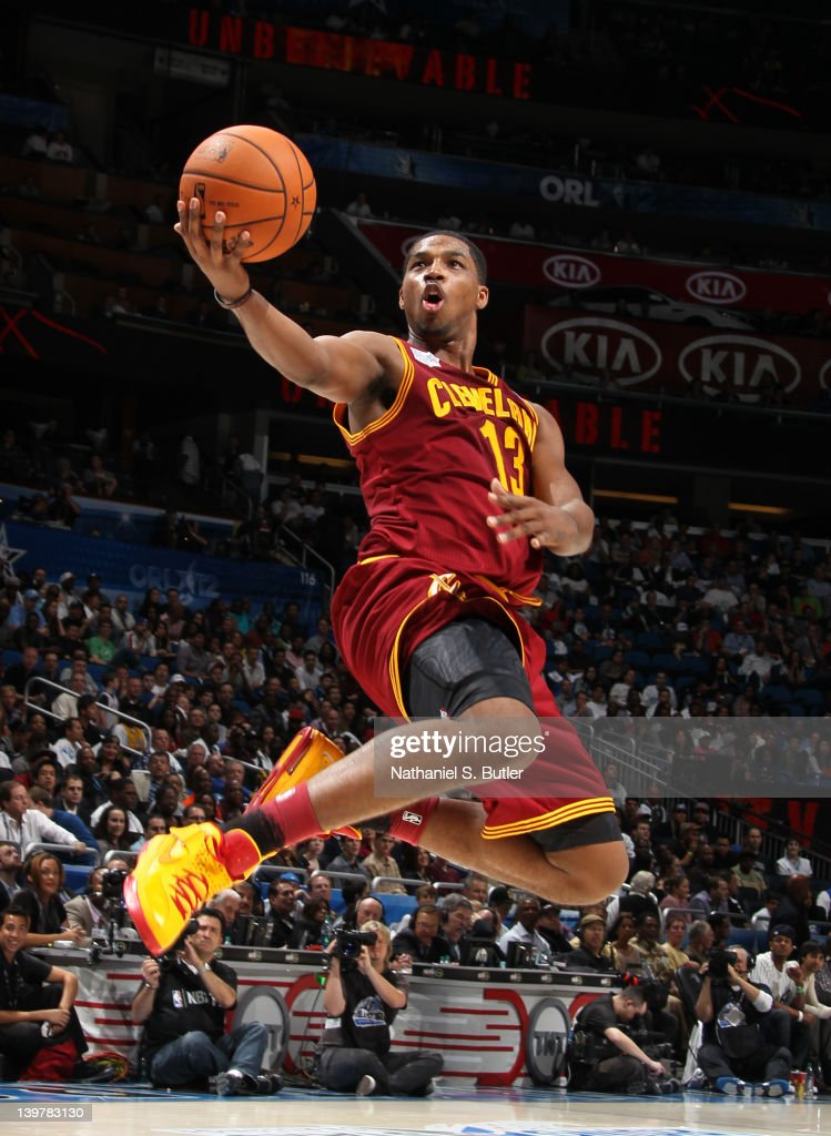 Tristan Thompson of Team Shaq during the BBVA Rising Stars Challenge as part of 2012 AllStar Weekend at the Amway Center on February 24 2012 in...