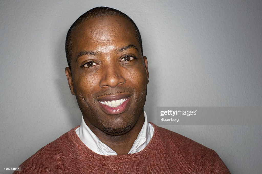 Tristan Walker, chief executive officer of Walker & Company Brands, stands for a photograph after a Bloomberg West Television interview in San Francisco, California, U.S., on Thursday, Dec. 26, 2013. Walker & Company Brands develops products to make health and beauty simple for people of color. Photographer: David Paul Morris/Bloomberg via Getty Images