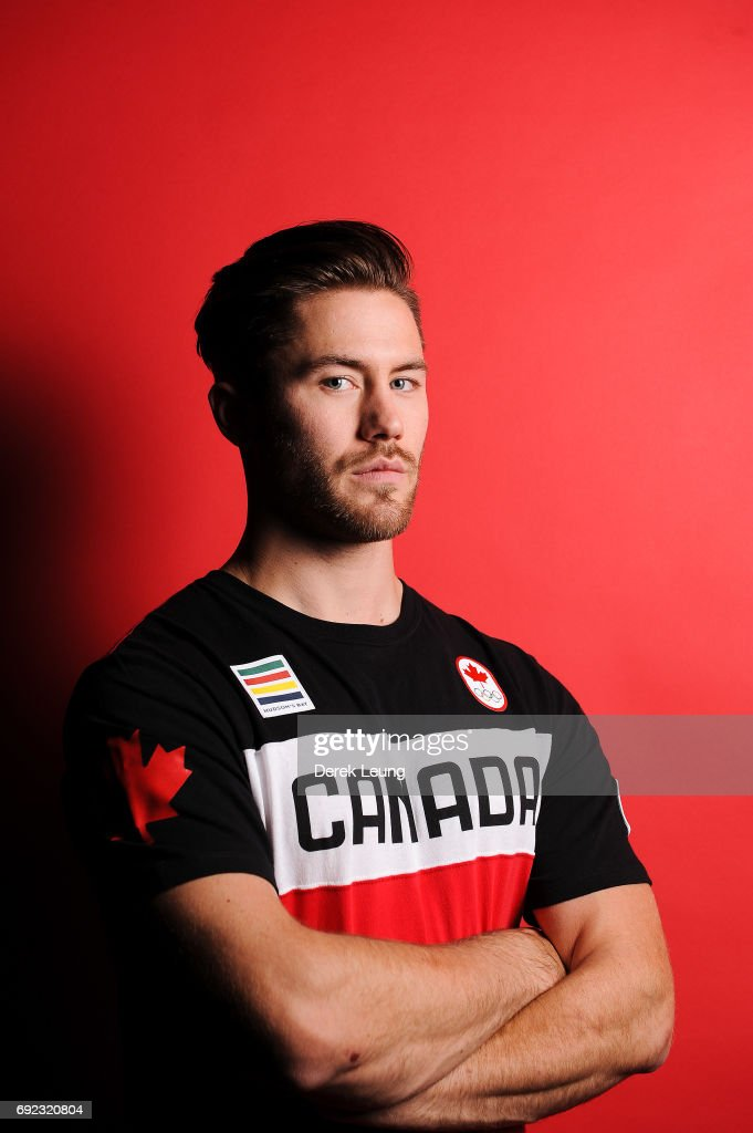 Tristan Walker poses for a portrait during the Canadian Olympic Committee Portrait Shoot on June 4, 2017 in Calgary, Alberta, Canada.