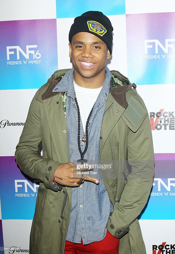 Tristan Wilds arrives at the 16th Annual 'Friends And Family' pre-GRAMMY event held at Paramount Studios on February 8, 2013 in Hollywood, California.