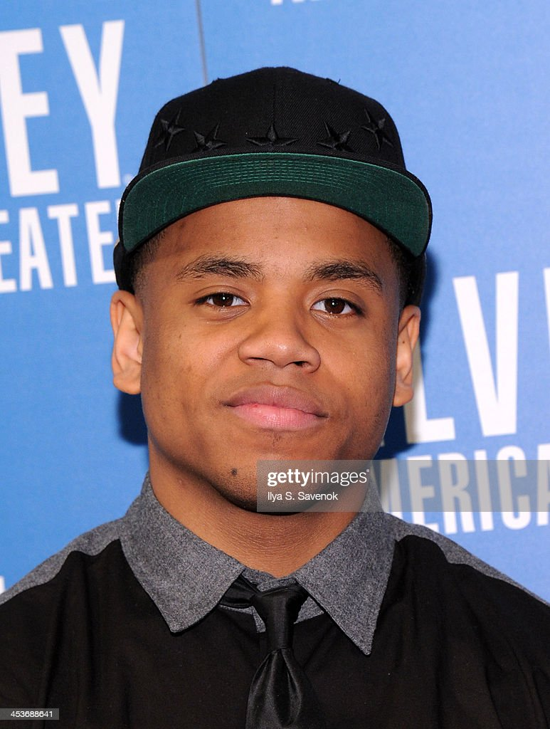 <a gi-track='captionPersonalityLinkClicked' href=/galleries/search?phrase=Tristan+Wilds&family=editorial&specificpeople=3025356 ng-click='$event.stopPropagation()'>Tristan Wilds</a> attends the 2013 Alvin Ailey American Dance Theater's opening night benefit gala at New York City Center on December 4, 2013 in New York City.