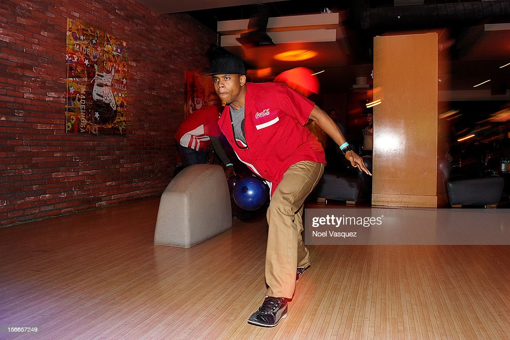 Tristan Wilds attends the 40th Anniversary American Music Awards Charity Bowl Pre-Party at Lucky Strike Lanes at L.A. Live on November 17, 2012 in Los Angeles, California.