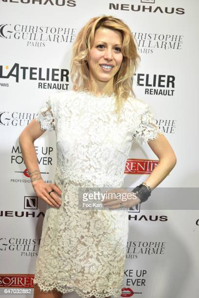 Tristane Banon attends the Christophe Guillarme show as part of the Paris Fashion Week Womenswear Fall/Winter 2017/2018 on March 1 2017 in Paris...