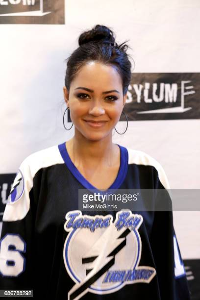 Tristin Mays attend the Premiere Of The Asylum's 'King Arthur And The Knights Of The Round Table' at The Independent Theater on May 21 2017 in Los...