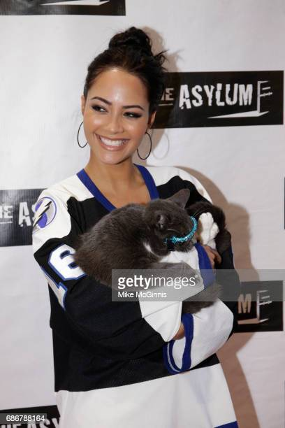 Tristin Mays attends the Premiere Of The Asylum's 'King Arthur And The Knights Of The Round Table' at The Independent Theater on May 21 2017 in Los...