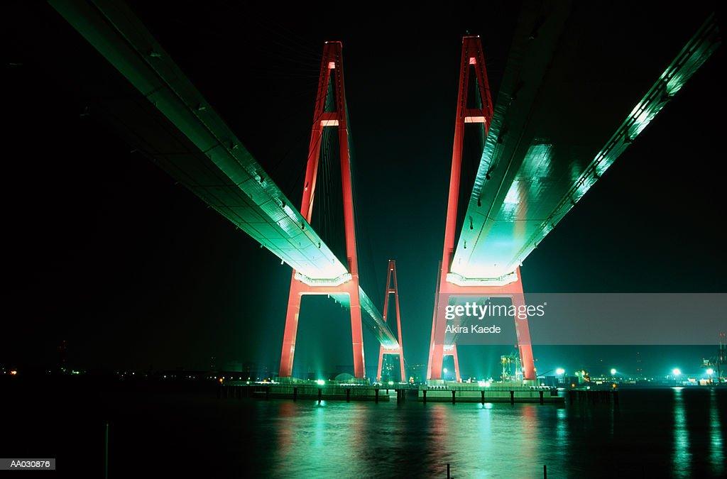 Triton Bridge, Nagoya, Honshu, Japan : Stock Photo