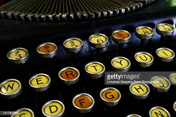 Tri-Tone antique typewriter