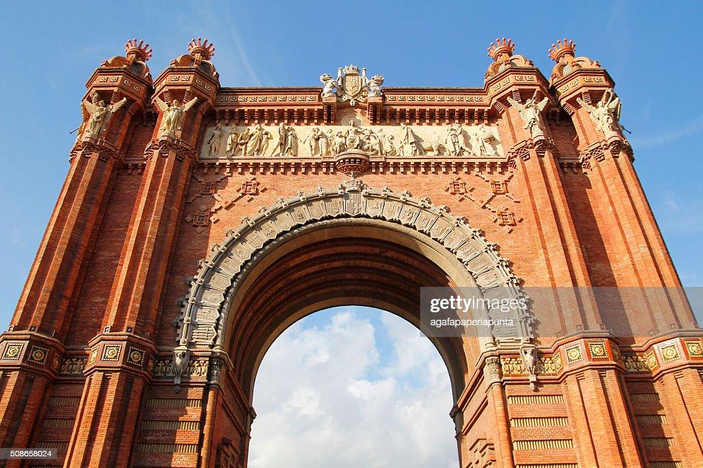 Triumph Arch of Barcelona, Spain : Stock Photo