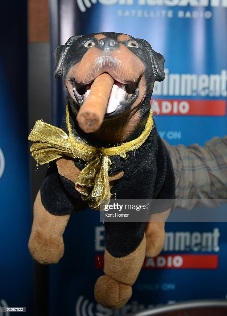 Triumph Insult Comic Dog is interviewed on SiriusXM's Entertainment Weekly Radio channel from Comic-Con 2014 at The Hard Rock Hotel on July 25, 2014 in San Diego, California.