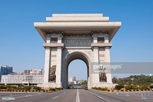 Triumphal Arch of Pyongyang, North Korea