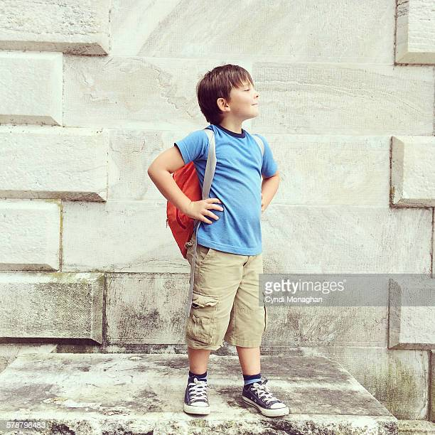 Triumphant Boy